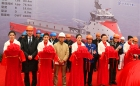 On Friday 6 February 2015, Wuchang Shipbuilding Industry Co., Ltd., China, held a steel cutting ceremony for the first of four platform supply vessels of Ulstein's PX121 design being built for Otto Offshore Limited